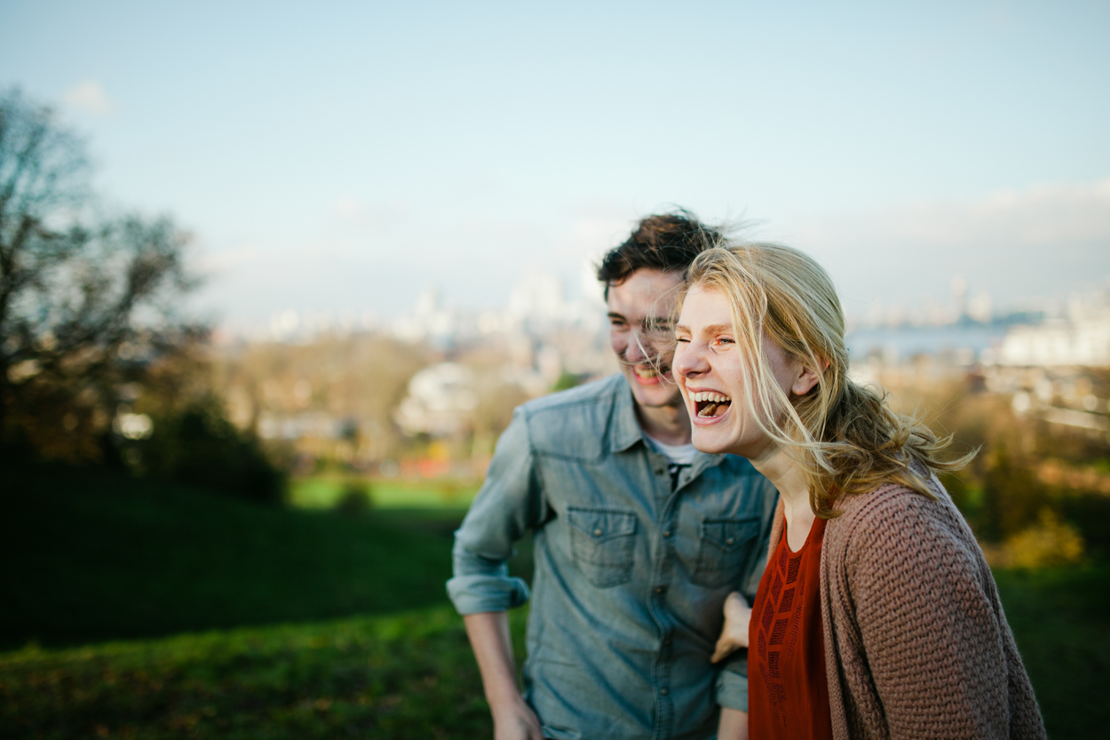 Greenwich Park observatory Proposal photo shoot by London wedding photographer