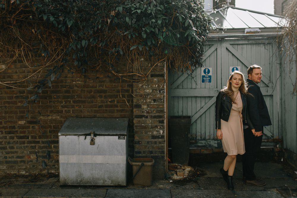 London pre wedding shoot