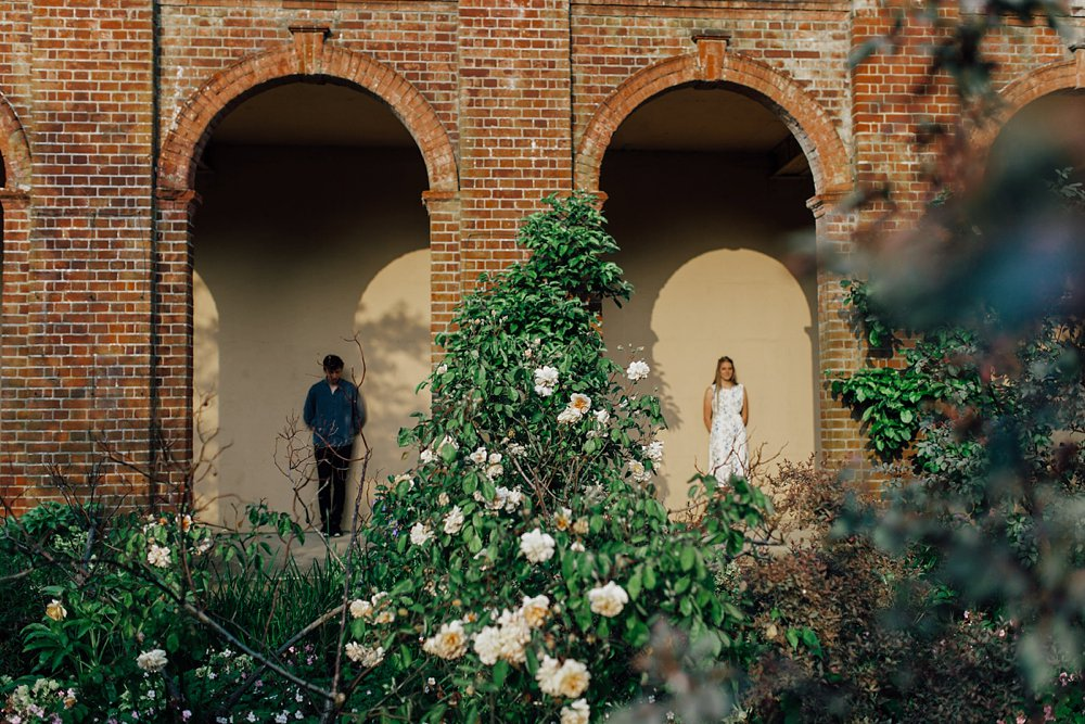 Hampstead Pergola and Hill Gardens Engagement shoot