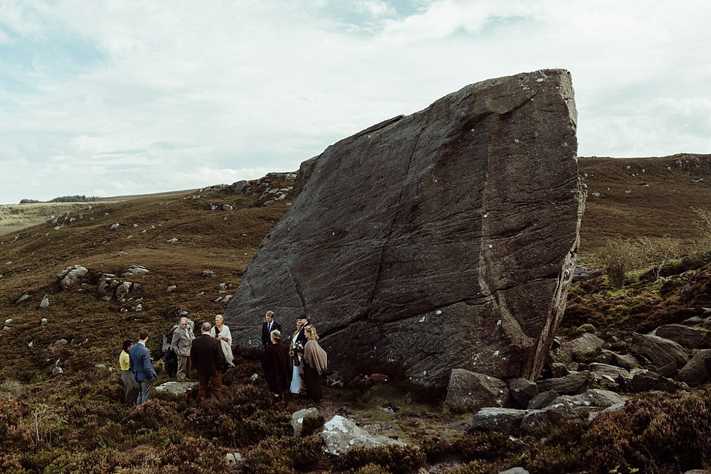 elopement near Drake Stone in Northumberland