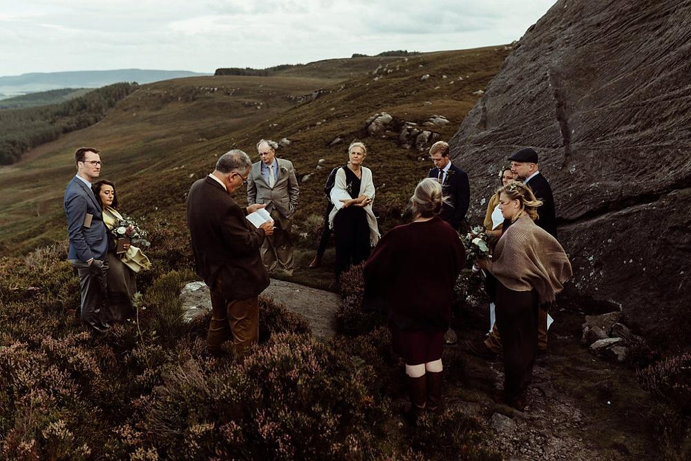 wedding elopement in Northumberland