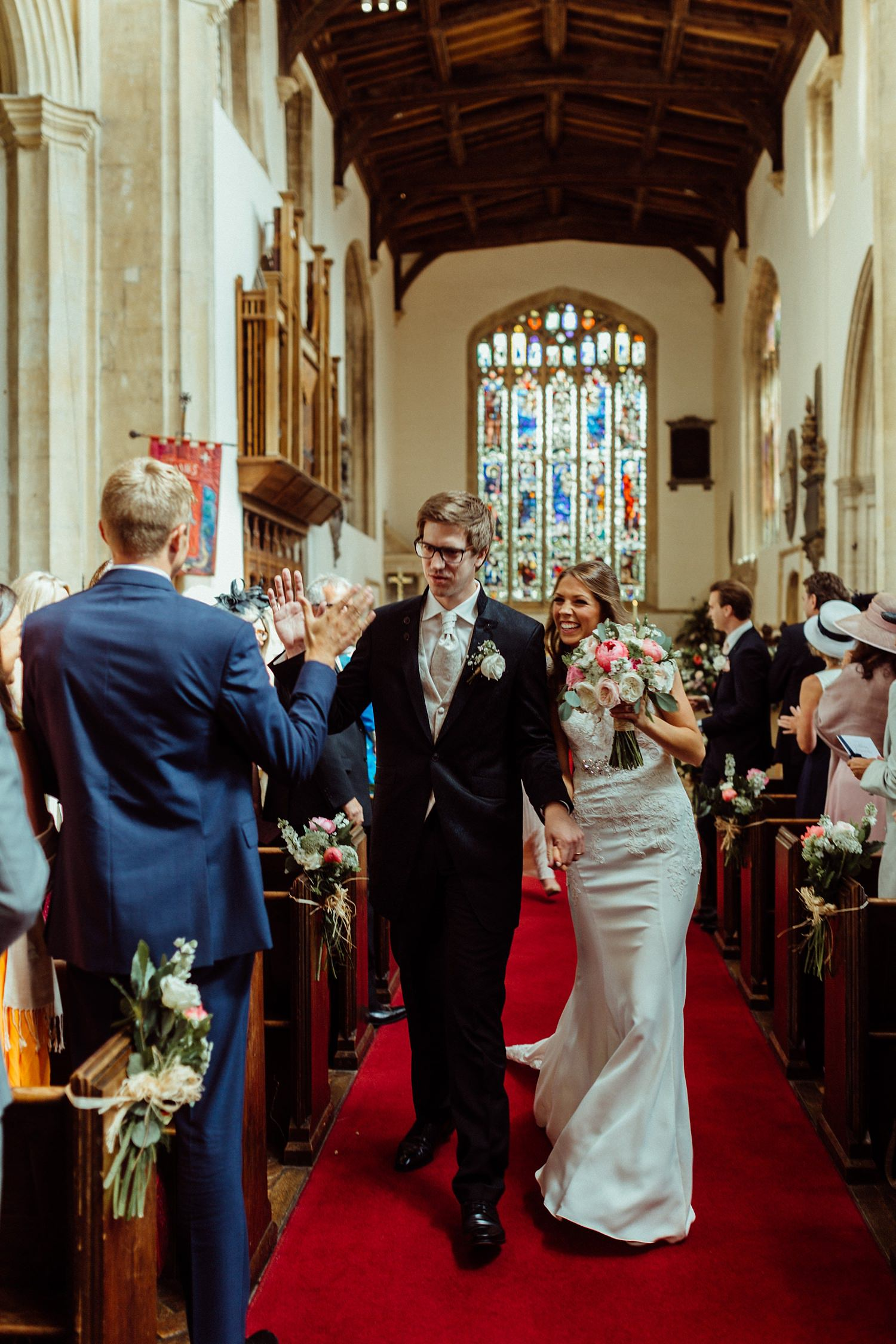 wedding ceremony Cotswolds church