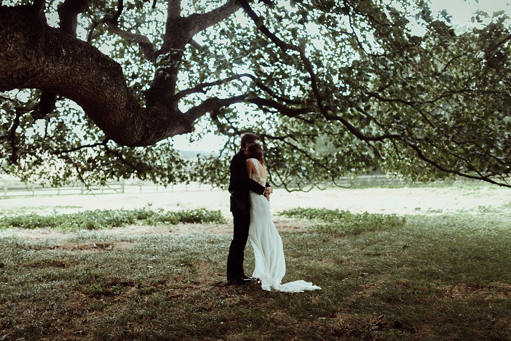 forest wedding portraits in Cotswolds