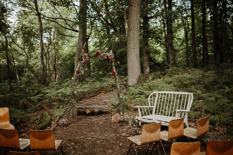 forests wedding ceremony Surrey