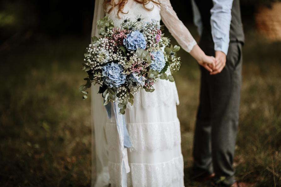 wedding bouquet for Surrey wedding