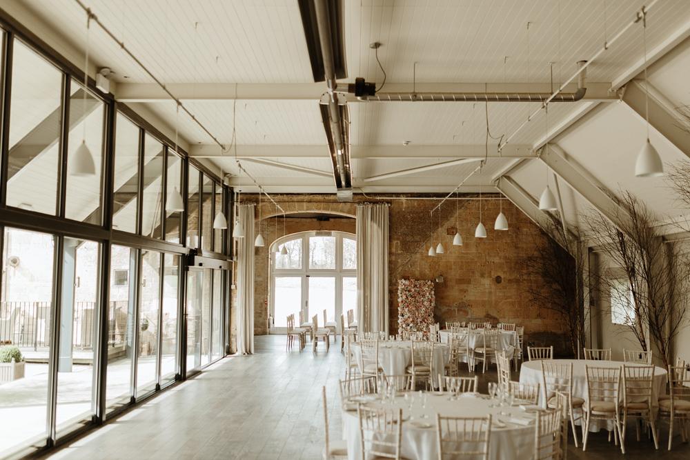 Cotswolds wedding barn wedding reception