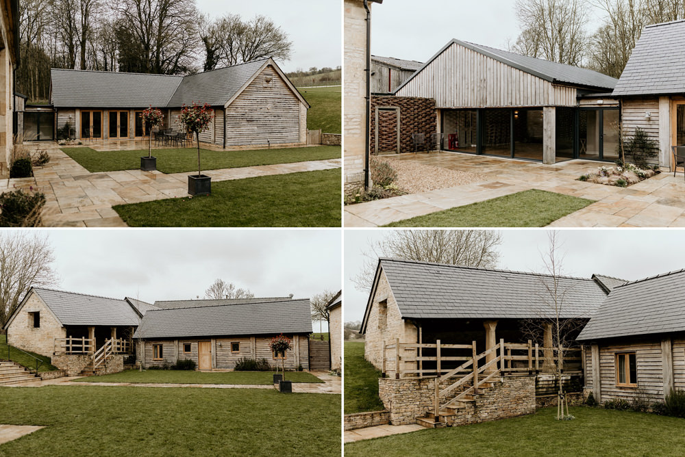 Cotswolds wedding barns at The Barn at Upcote Cotswolds