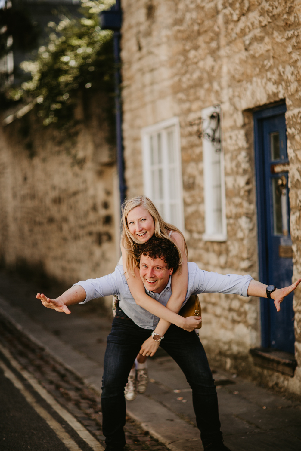 Oxford city photo session by Oxford wedding photographers