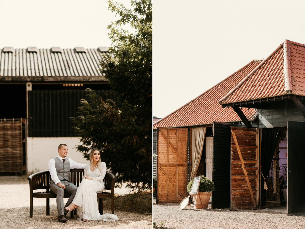 summer festival wedding at preston court wedding venue by Canterbury wedding photographers
