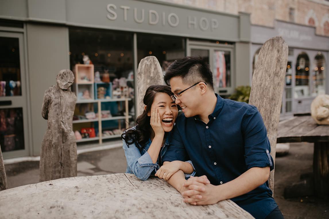 engagement photo session london