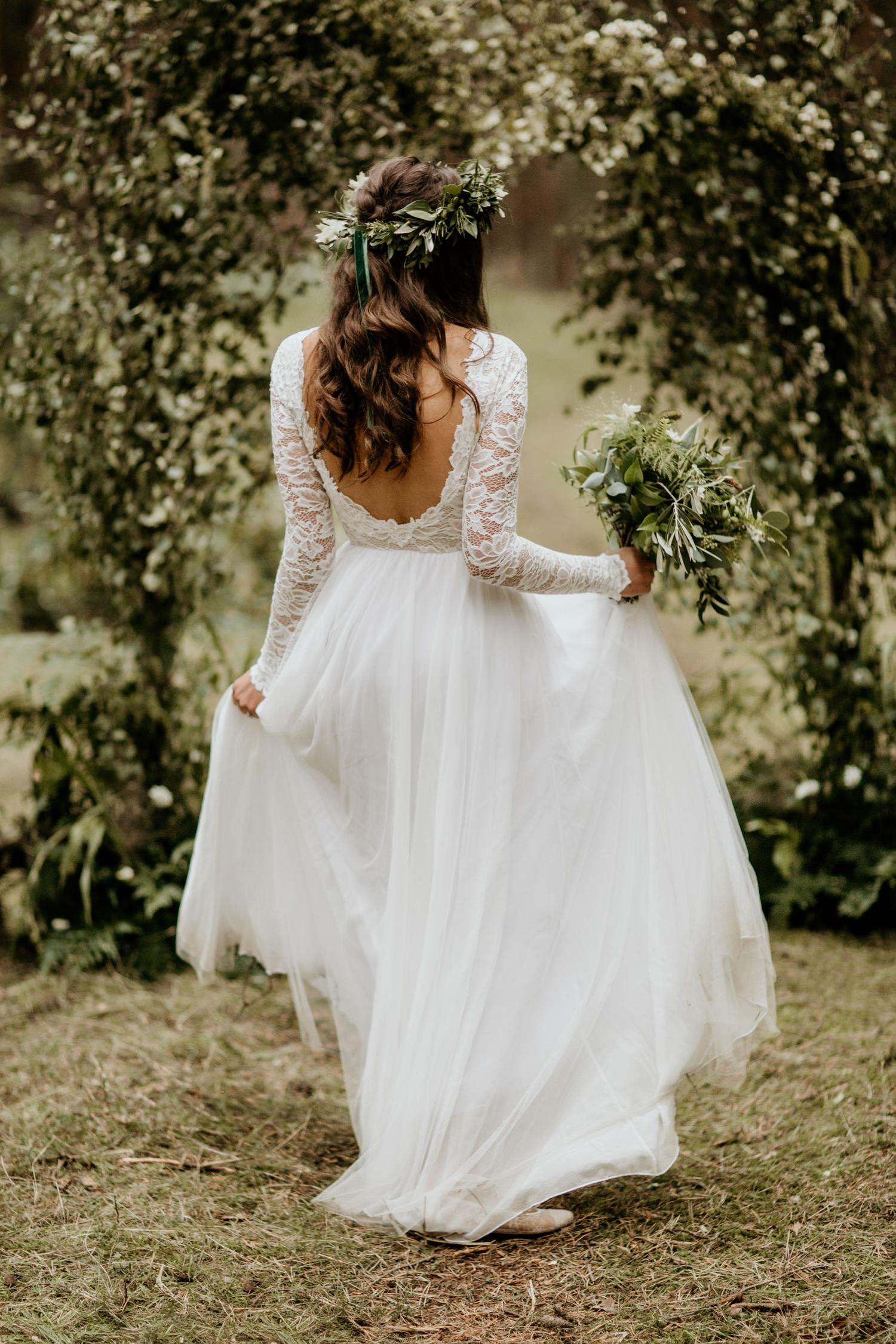 ethically made wedding dress
