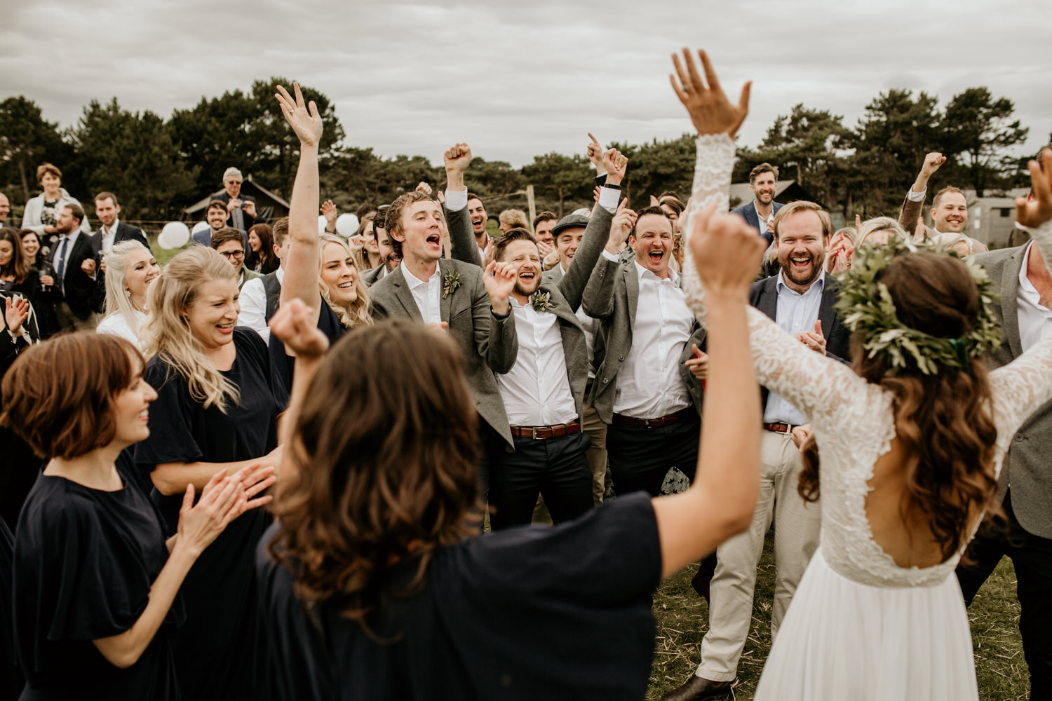 flash mob wedding surprise at Harvest Moon Holidays Scotland