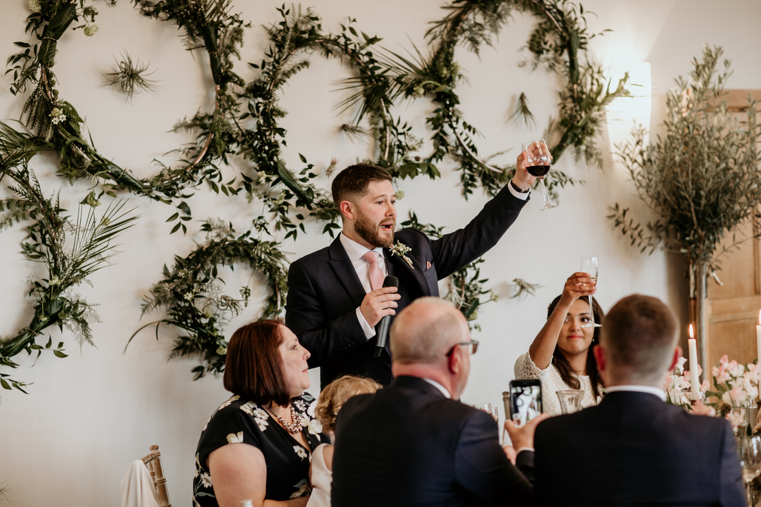 groom speech for a Coombe Lodge Blagdon wedding reception