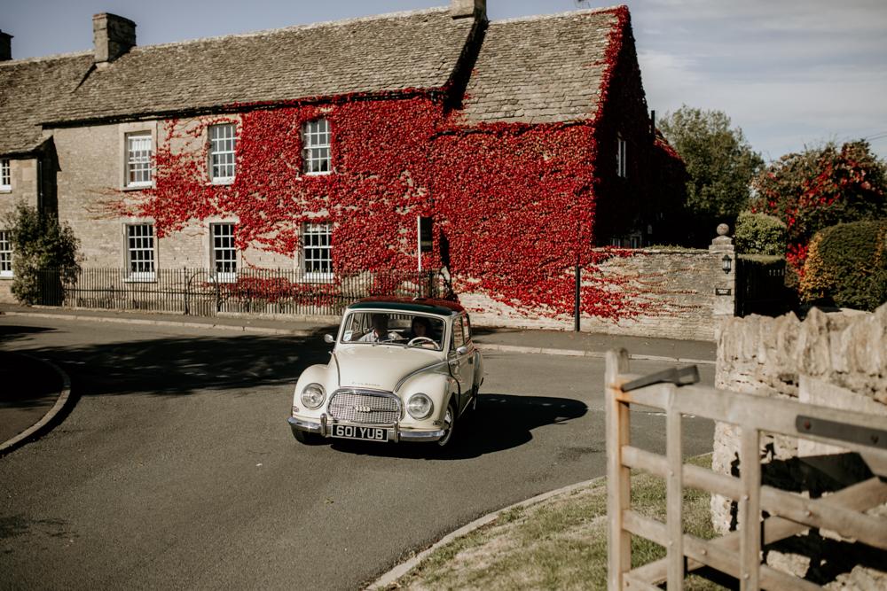 Poulton wedding car