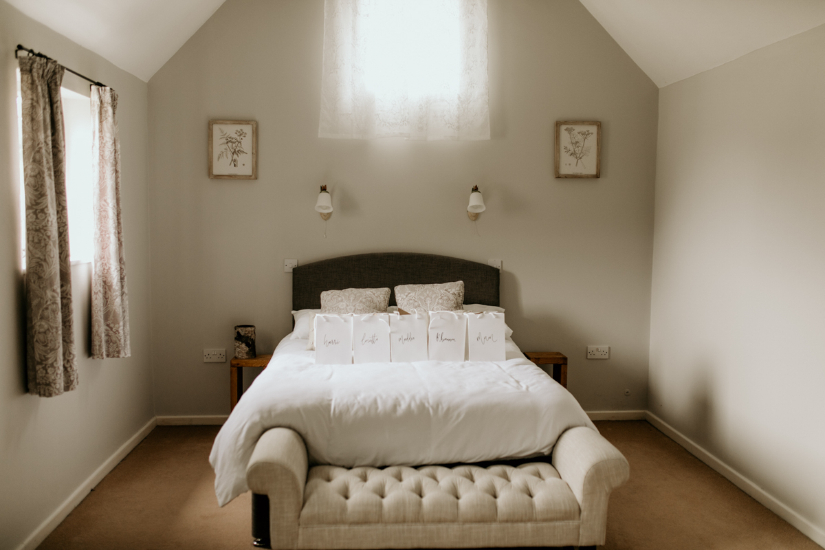 accommodation at priors court barn wedding venue gloucestershire
